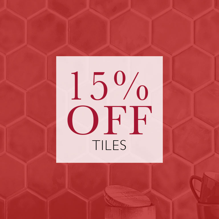 Tiles 15% OFF
