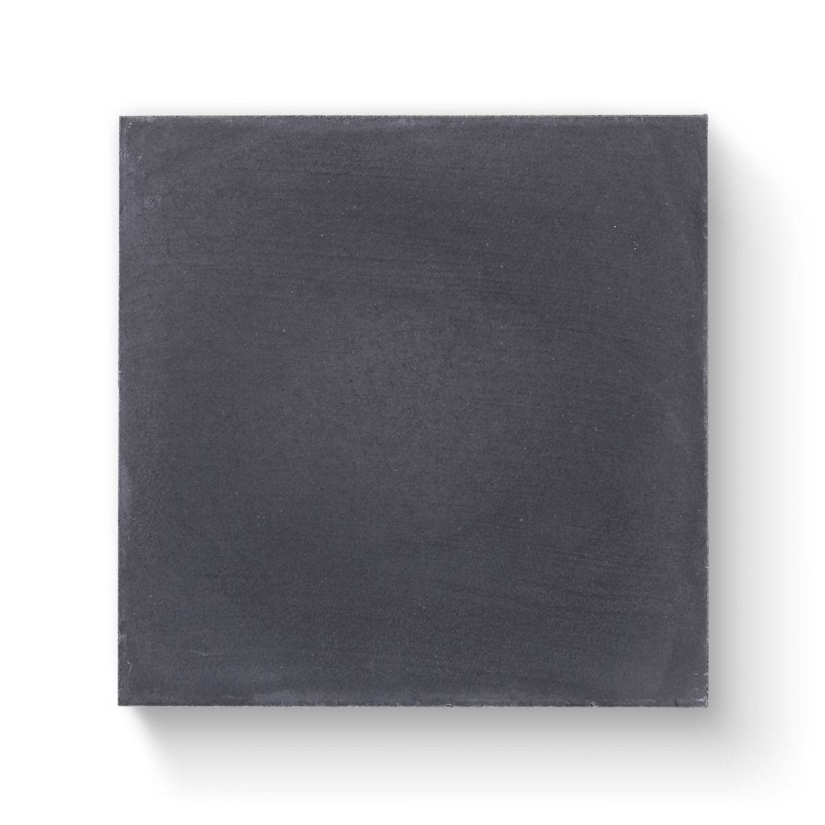 Bert & May Old Iron Plain Tile 20cm x 20cm