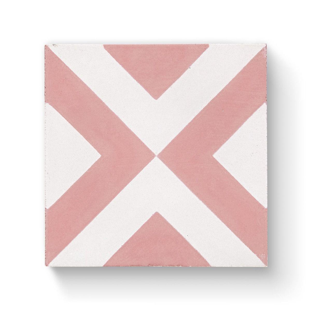 Bert & May Vigo Pink 20cm x 20cm