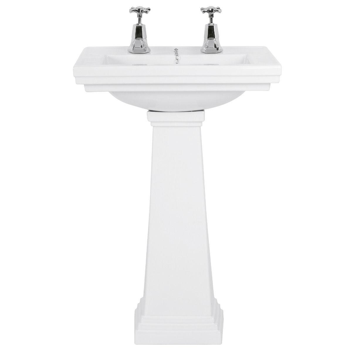 Battersea Cloakroom Basin and Pedestal