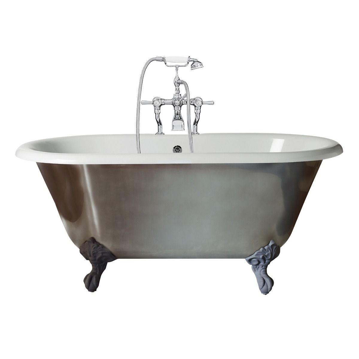 Canterbury Mini Metallic Freestanding Bath