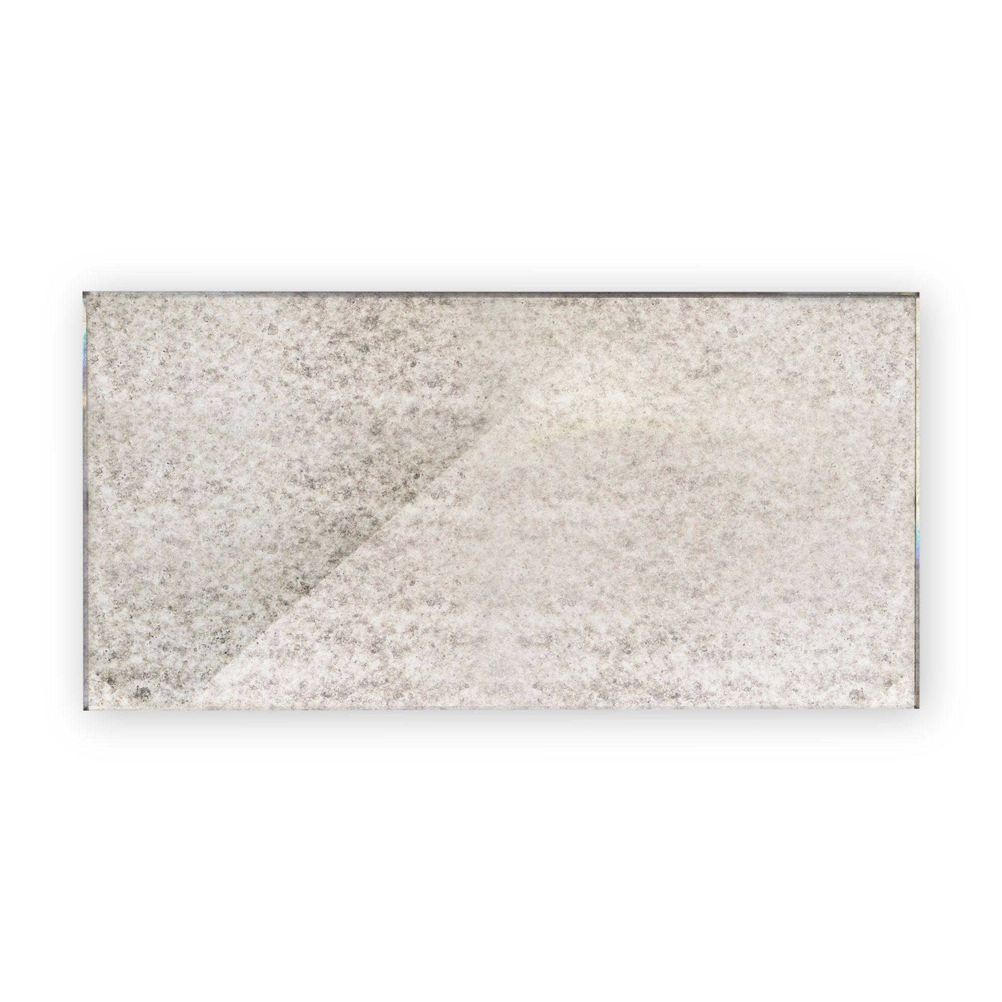 Deco Glass Silver