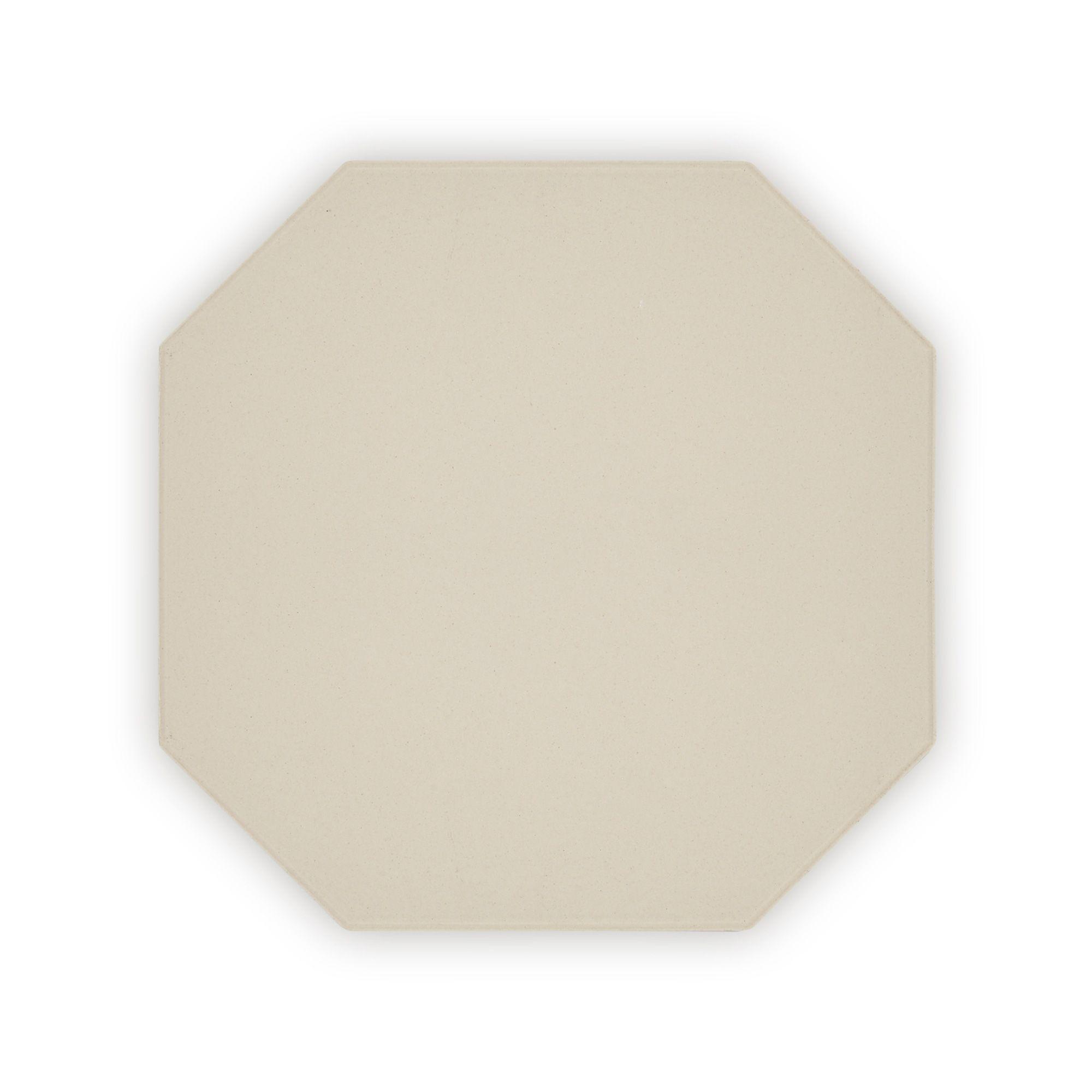 Geometric White Octagon