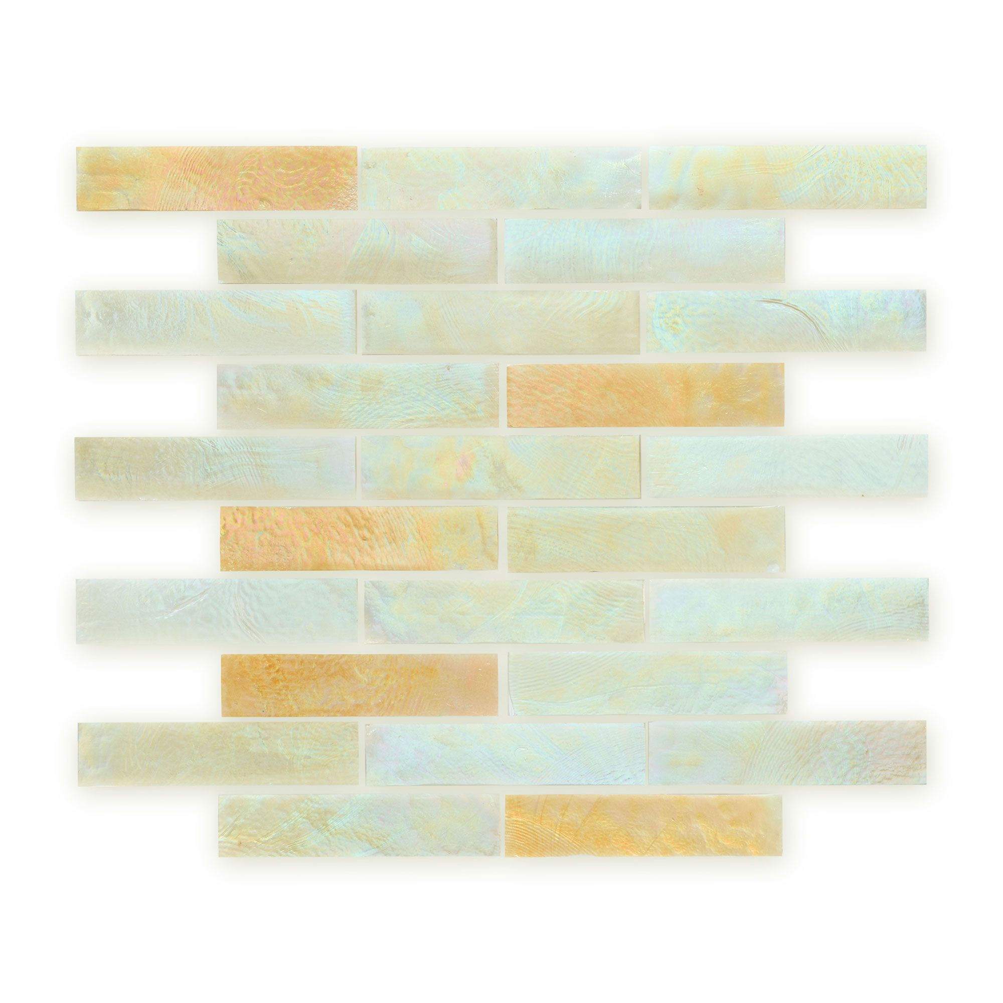 Iridescent Glass Sandstone Fusion