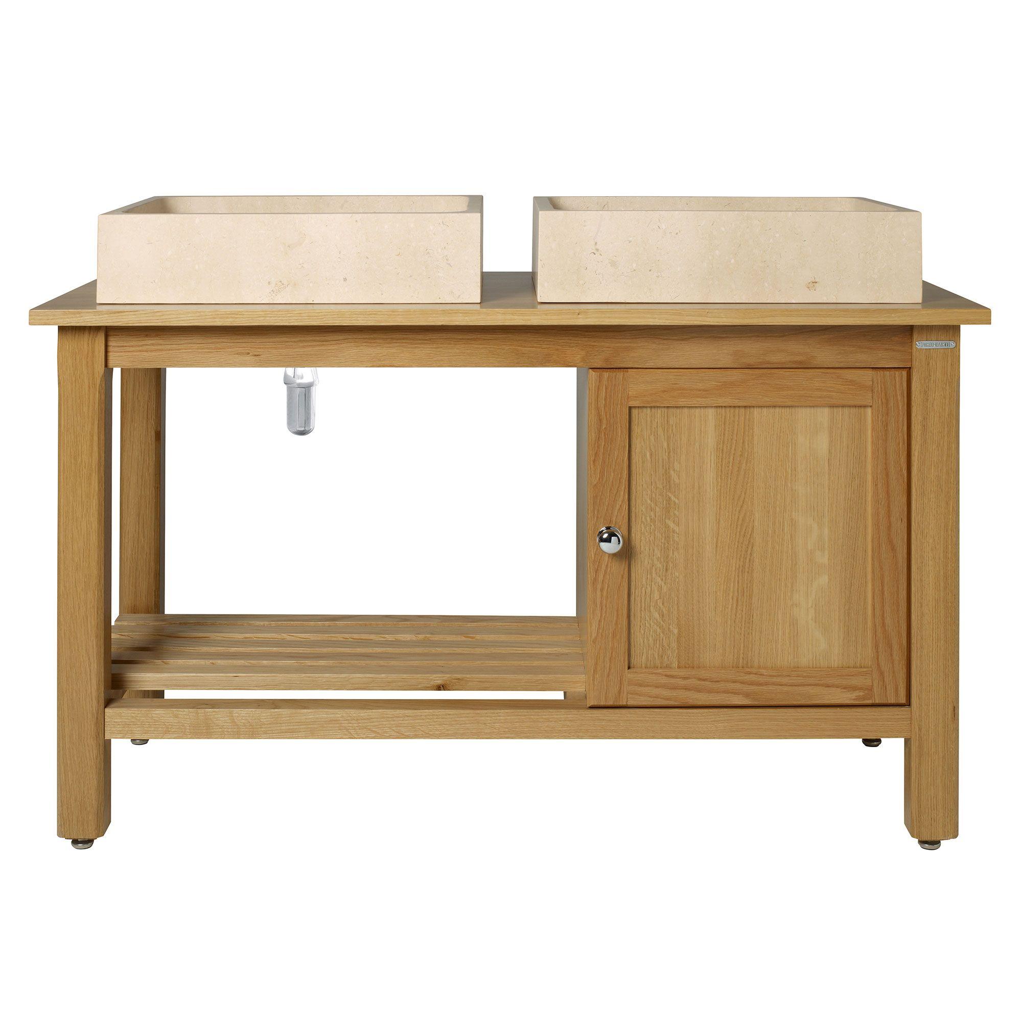 Logic Washstand 1200 With Cupboard