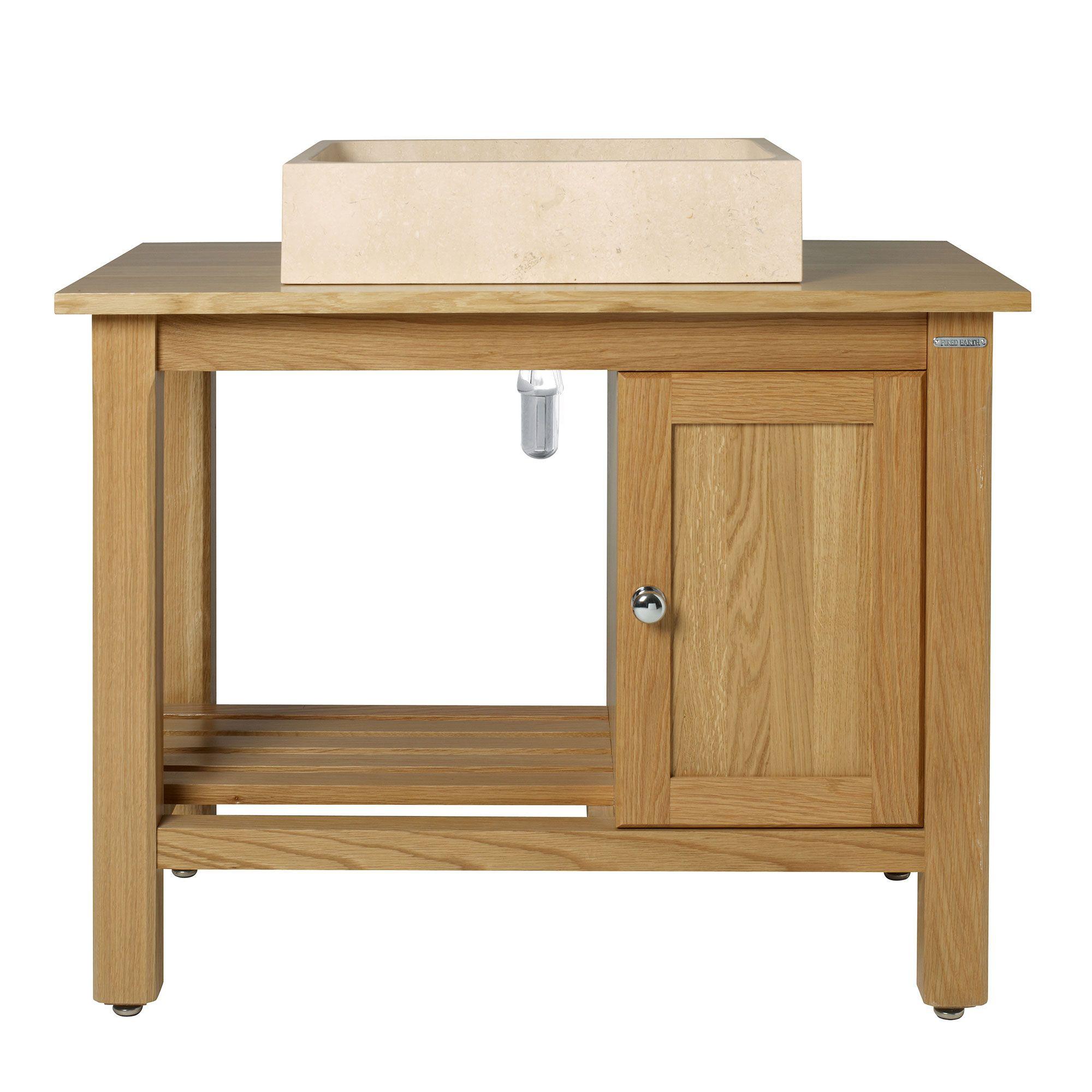 Logic Washstand 900 With Cupboard