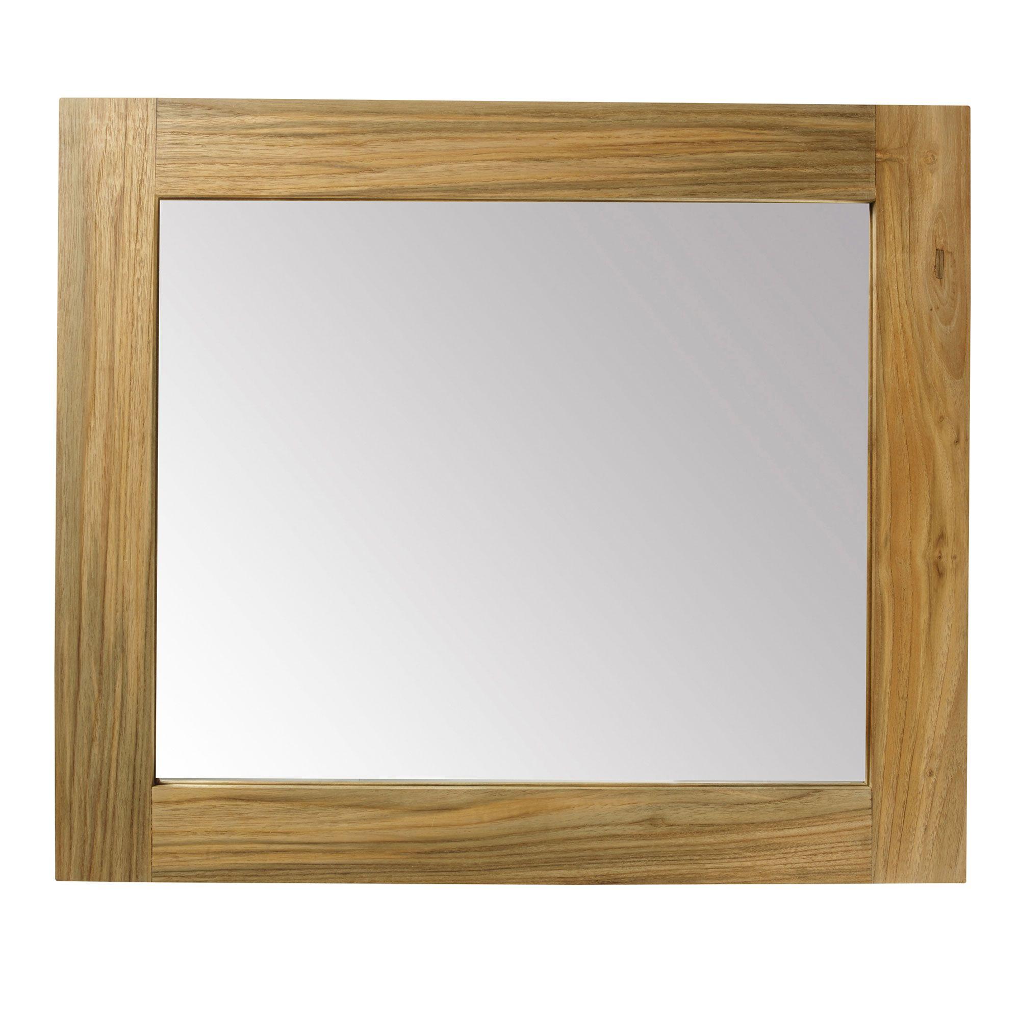 Reclaimed Teak Mirror 600