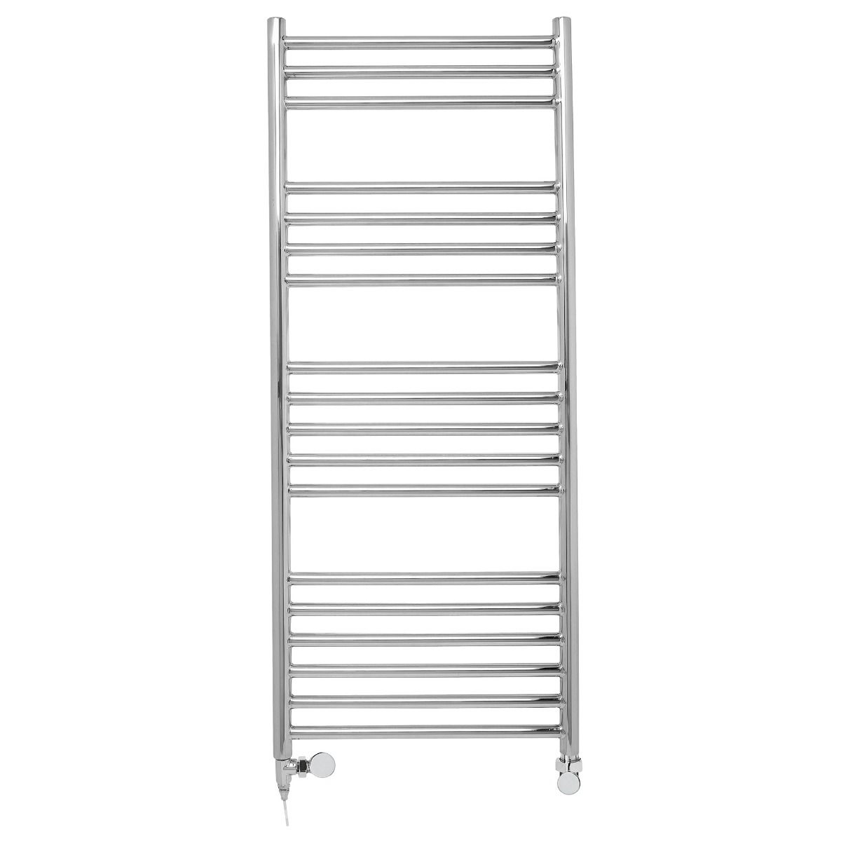Stainless Steel Heated Towel Rail 120x50
