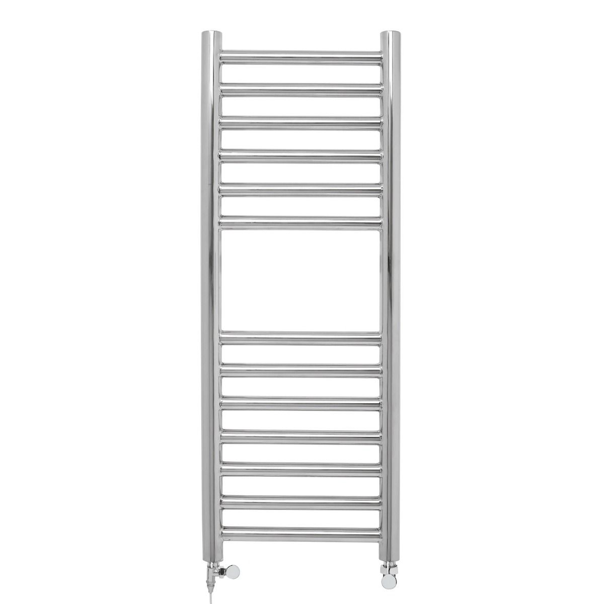Stainless Steel Heated Towel Rail 80x30