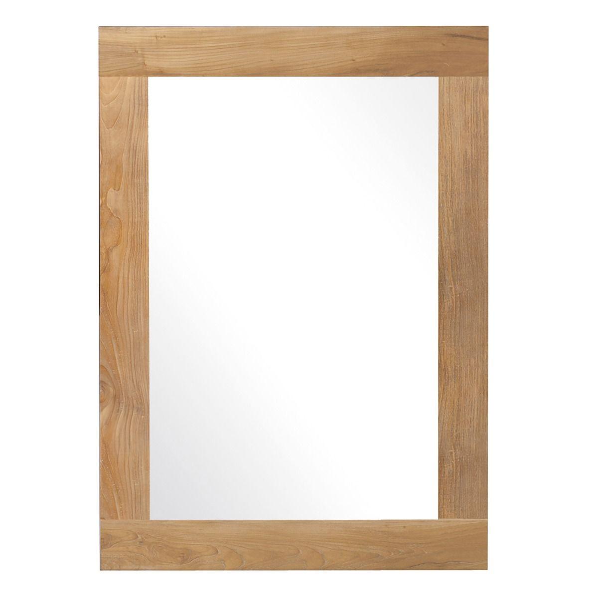 Teak Mirror 650