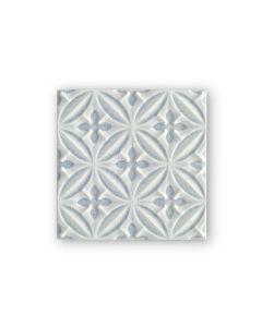 Alhambra Blue Decor 15 x 15