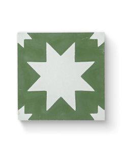 Bert & May Pradena Green 20cm x 20cm