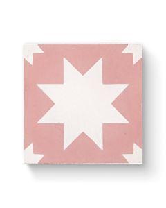 Bert & May Pradena Pink 20cm x 20cm