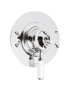 Bastide Concealed Dual Control Shower - Circular
