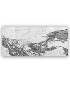 Belluno Bianco Satin - Five Tile Panel