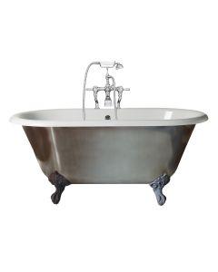 Canterbury Mini Metallic Freestanding Bath
