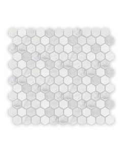 East Hampton Hexagonal Mosaic, Honed