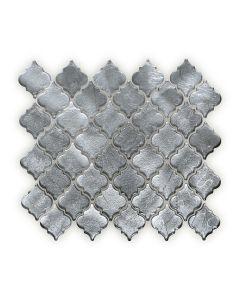 Metallic Vitreum Argentum Arabesque