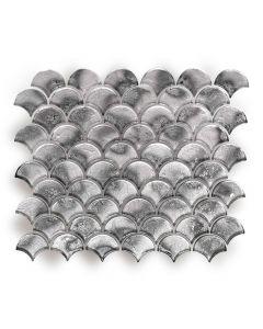 Metallic Vitreum Argentum Fan