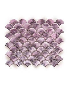 Metallic Vitreum Rosa Fan