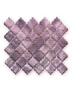 Metallic Vitreum Rosa Arabesque