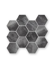 Nebula Black Hexagon