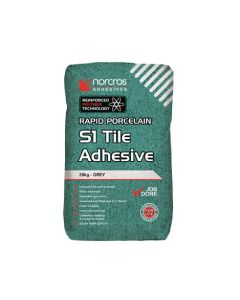 Norcros S1 Flexible Fast Set Adhesive Grey