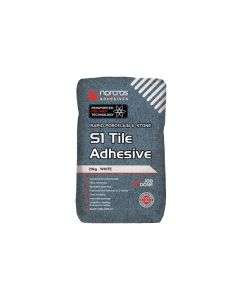 Norcros S1 Flexible Fast Set Adhesive White