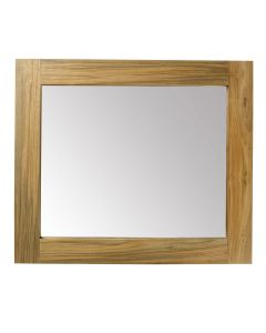 Reclaimed Teak Mirror 600