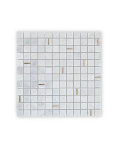 Savoy White Mosaic