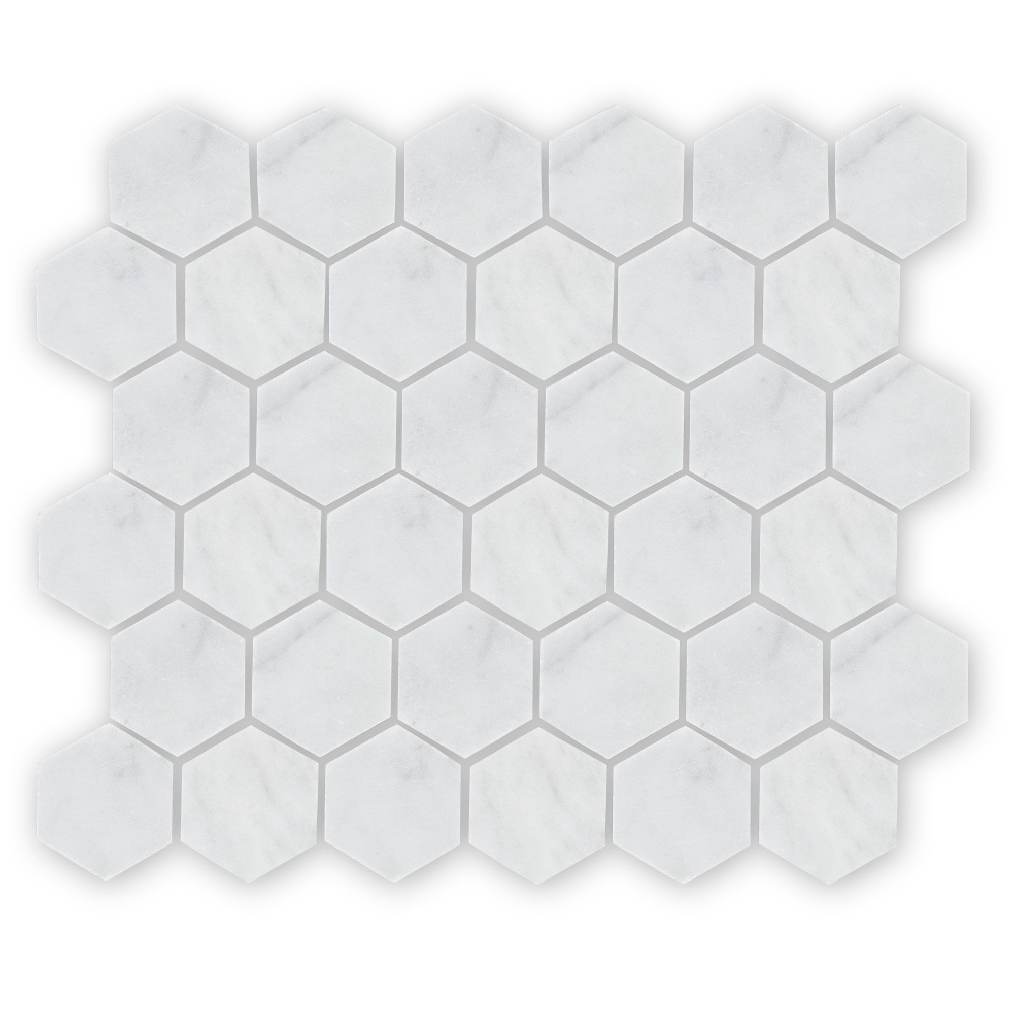 Bridgehampton Hexagon Mosaic, Honed