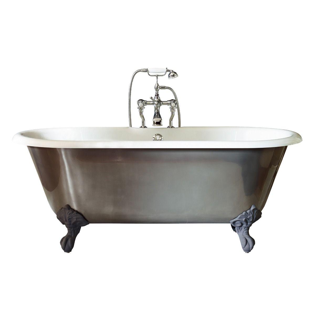 Canterbury Metallic Freestanding Bath 1750