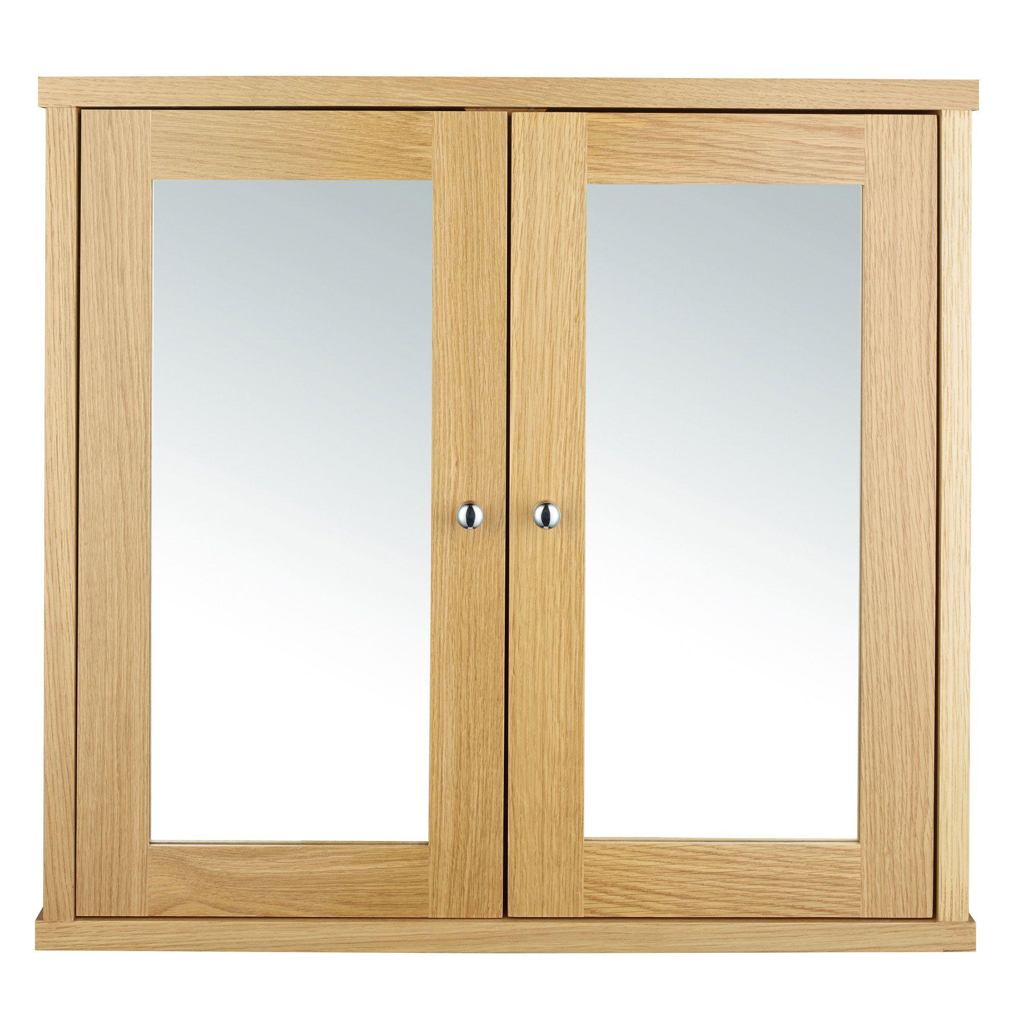 Logic 2 Door Mirror Cabinet